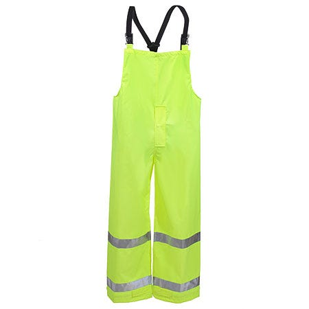 Tingley Overalls: Lime High Visibility Rubber Overalls O23122 Sale $38.00 Item#O23122 :