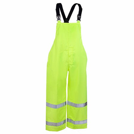 Tingley Overalls: High Visibility Lime Waterproof Overalls O24122 Sale $55.00 Item#O24122 :