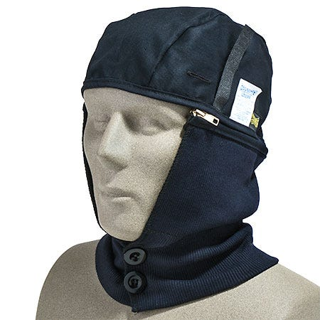 Occunomix Headgear: Flame Resistant Winter Hard Hat Liner LZ620 FR