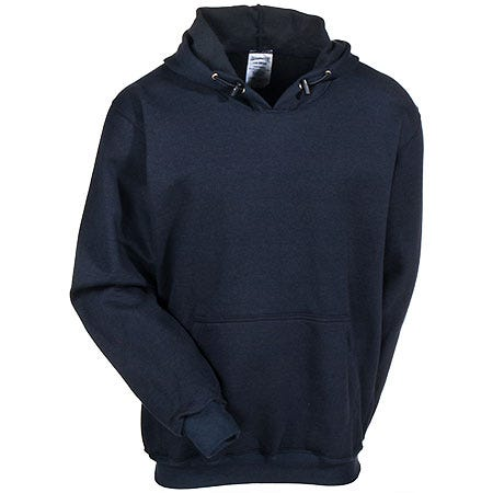 Occunomix Sweatshirts: Men's LUX SWTFR Navy Flame Resistant Hooded Sweatshirt