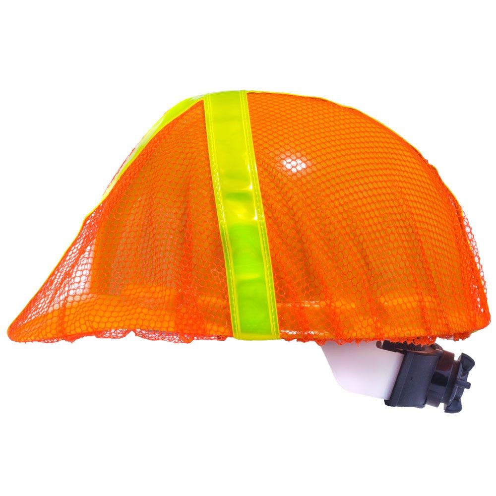 dbb4387ec71 Occunomix Hat Covers  Unisex High-Visibility V896 R O Orange Hard Hat Cover