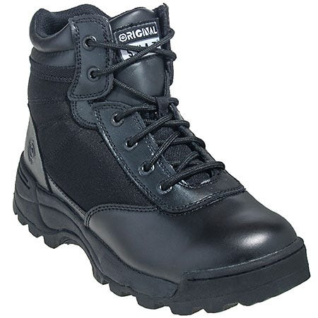 S.W.A.T Boots Men's 6 Inch Metro Traction Classic Military Boots 1151