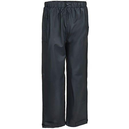 Tingley Pants: Men's Black Waterproof Poly Knit P67013 Stormflex Rain Pants