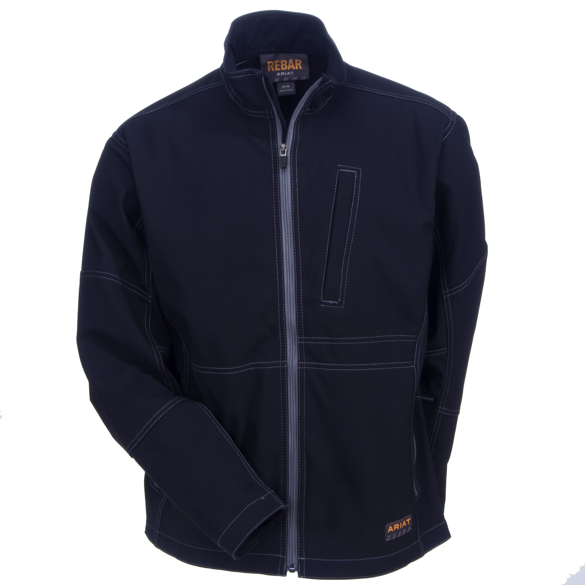 865c0a1d Ariat Workwear: Men's Rebar Black 10020777 Canvas Jacket - Apparel ...