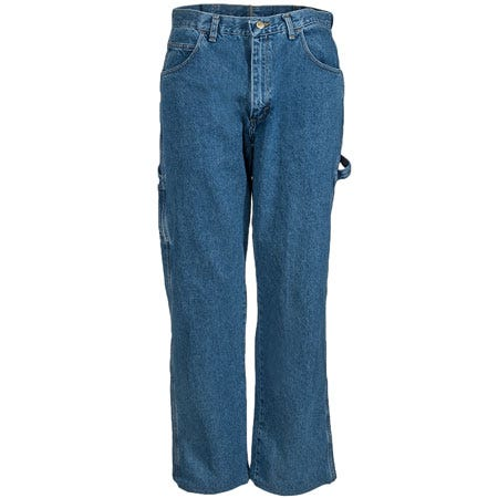 Red Kap Stonewashed PD80 SW Loose Fit Work Dungaree Jeans