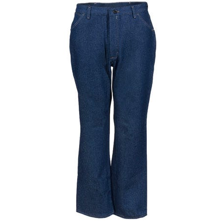 Bulwark Jeans: Men's Fire-Resistant Blue Cotton Denim Work Jeans PEJ2DD Sale $47.00 Item#PEJ2DD :