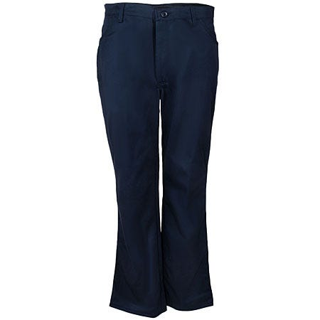 Bulwark Jeans: Men's Flame-Resistant Navy Blue Work Pants PEJ2 NV Sale $51.00 Item#PEJ2NV :