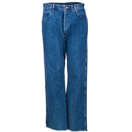 Bulwark Jeans: Men's Loose Fit Flame-Reistant Cotton Denim Jeans PEJ6 SW Sale $52.00 Item#PEJ6SW :