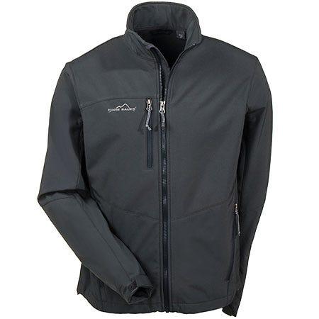 Eddie Bauer Men's Waterproof Soft Shell Grey Jacket EB530 GRY