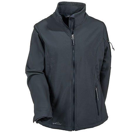 Eddie Bauer Women's Grey Soft Shell Waterproof Jacket EB531 GRY