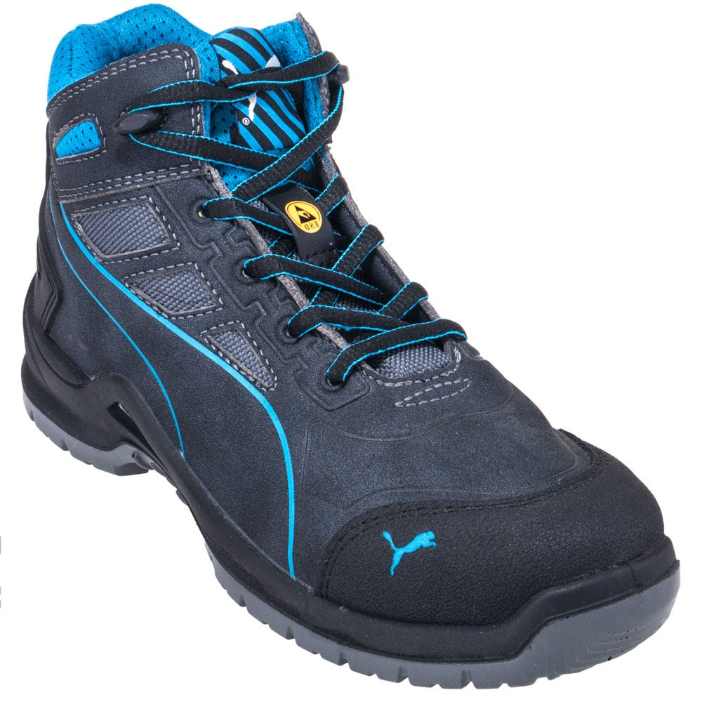 Puma Safety 634055 Women's Technics ESD Steel Toe Hikers