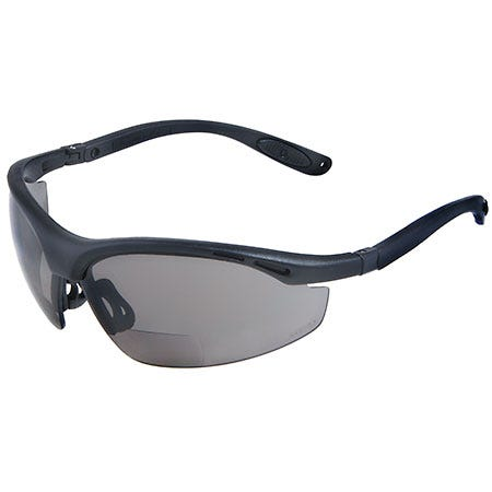 Radians Sunglasses: Unisex CH1-225 Black Smoke Lens Bifocal Safety Sunglasses Sale $12.00 Item#CH1-225 :
