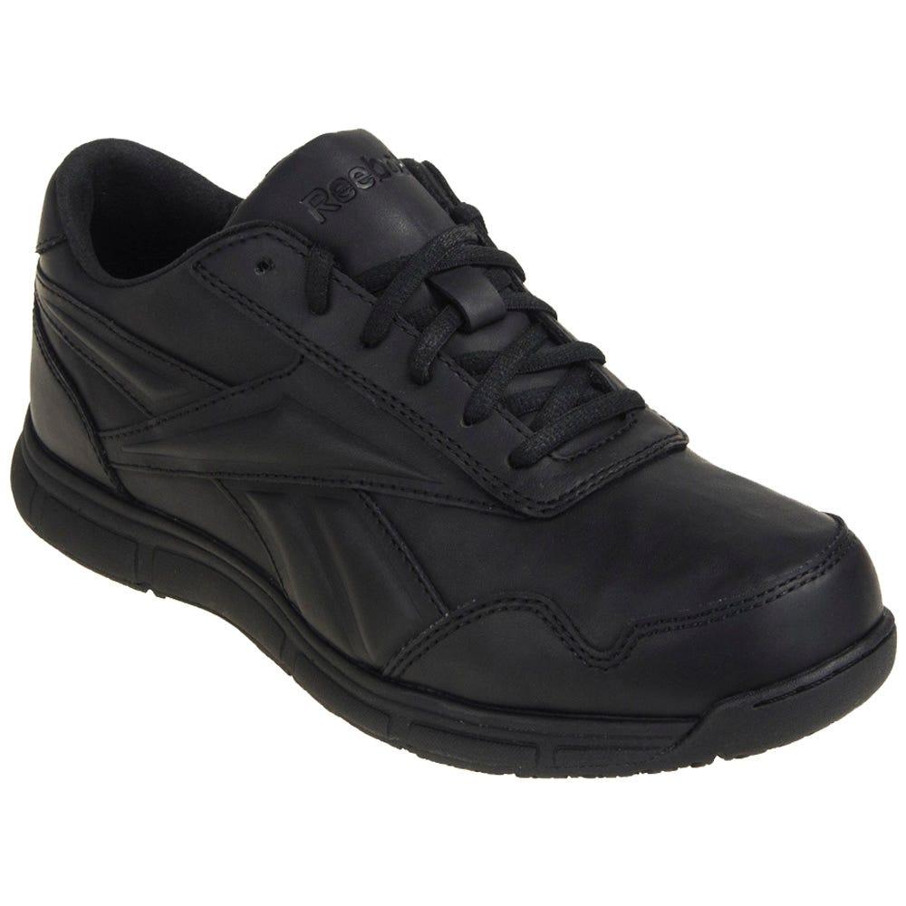 Reebok Women's Black RB113 Soft Toe EH Jorie LT Oxford Work Shoes
