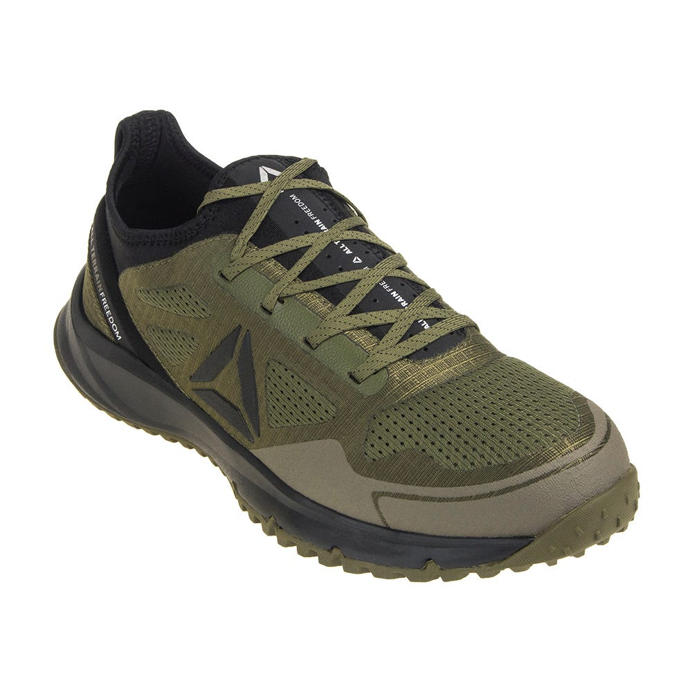 Reebok RB4092 Green Steel Toe All Terrain Work Oxfords
