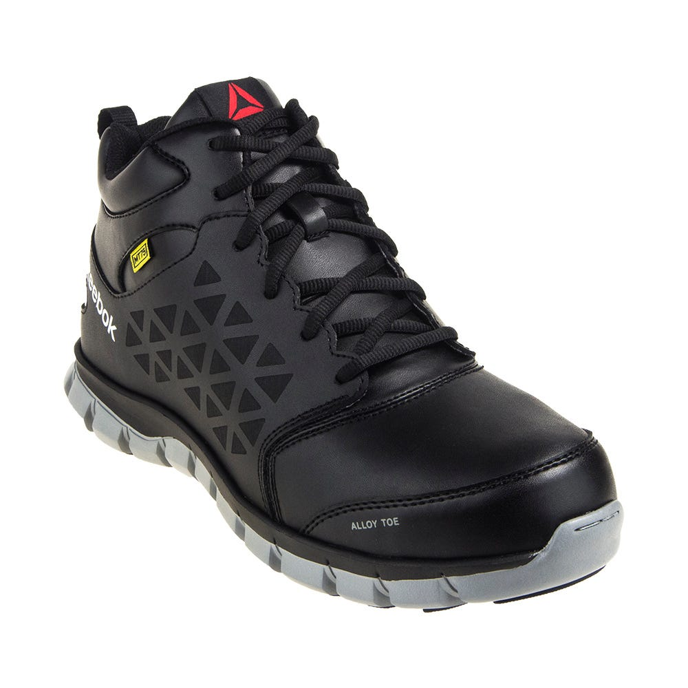 Reebok Internal Met Guard RB4143 Men's Black Athletic Sublite Cushion Work Shoes