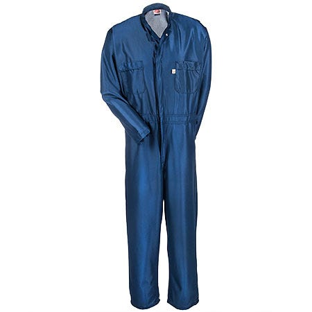 Red Kap Coveralls: Men's ESD Anti Static Blue Work Coveralls CK44 NV Sale $54.00 Item#CK44NV :