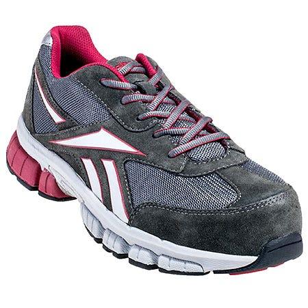 Reebok Shoes: Women's Grey RB489 Ketia Composite Toe Athletic Shoes