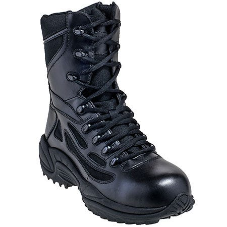 Reebok Women's RB874 Rapid Response EH Composite Toe Military Boots