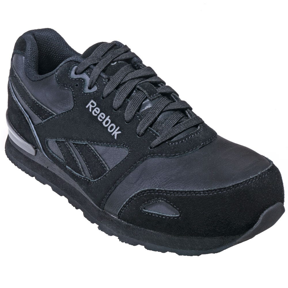 Reebok RB1974 Black Composite Toe EH Athletic Shoes
