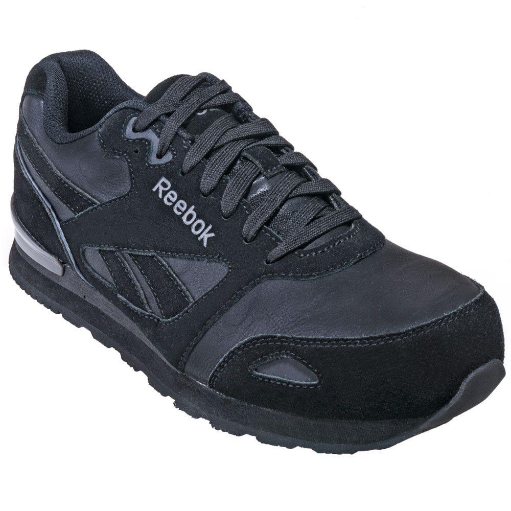 Reebok Shoes Menu0026#39;s RB1974 Black Composite Toe EH Athletic ...