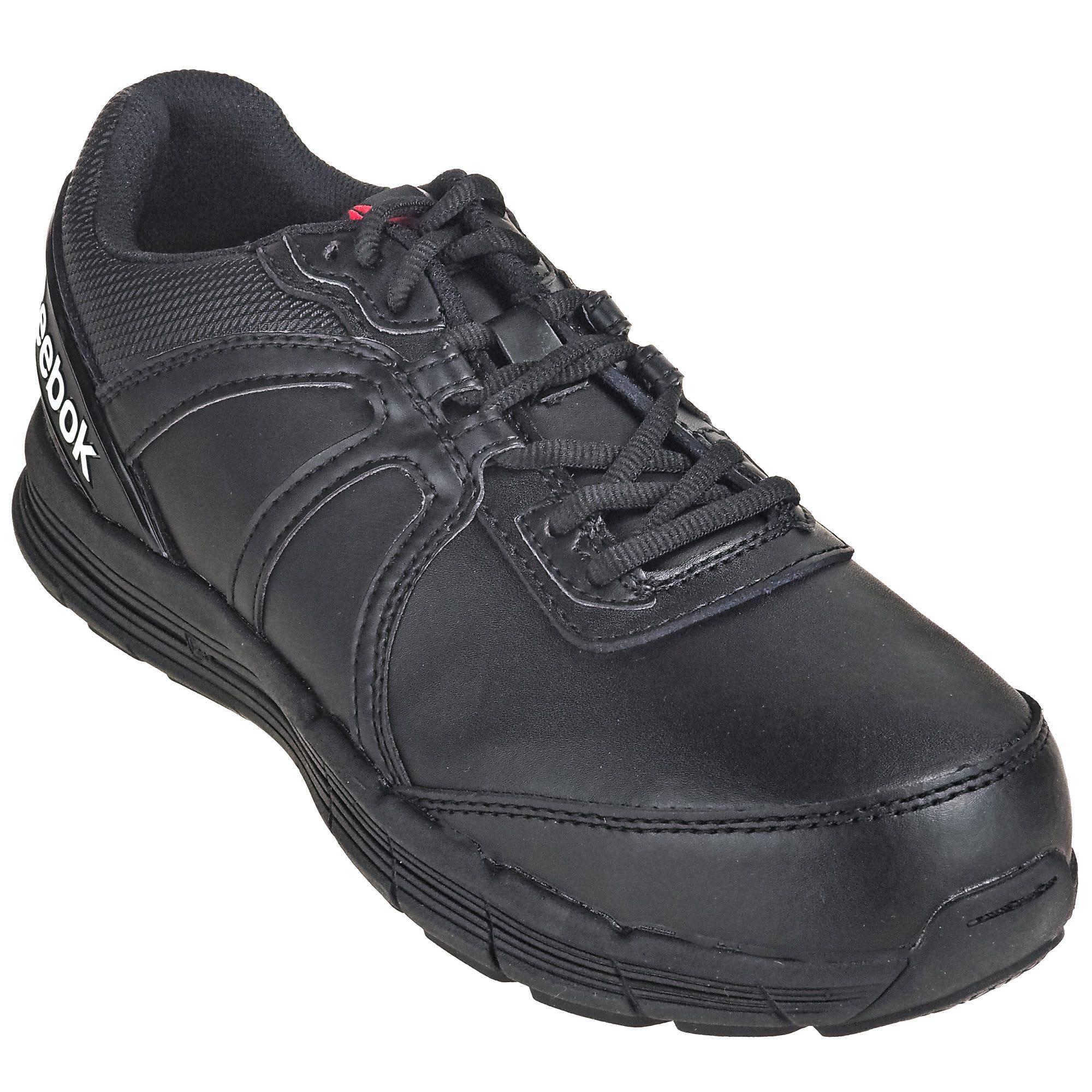 Reebok RB351 Steel Toe Women's ESD Black Guide Athletic Shoes