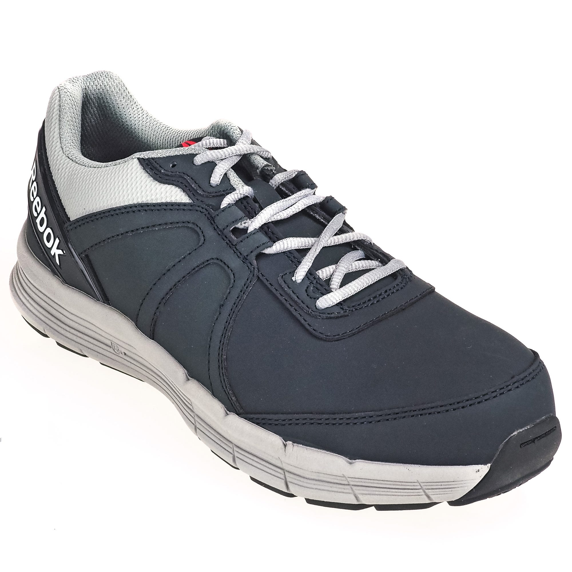Reebok Navy Blue RB3502 EH Steel Toe Grey Guide Performance Cross Trainers