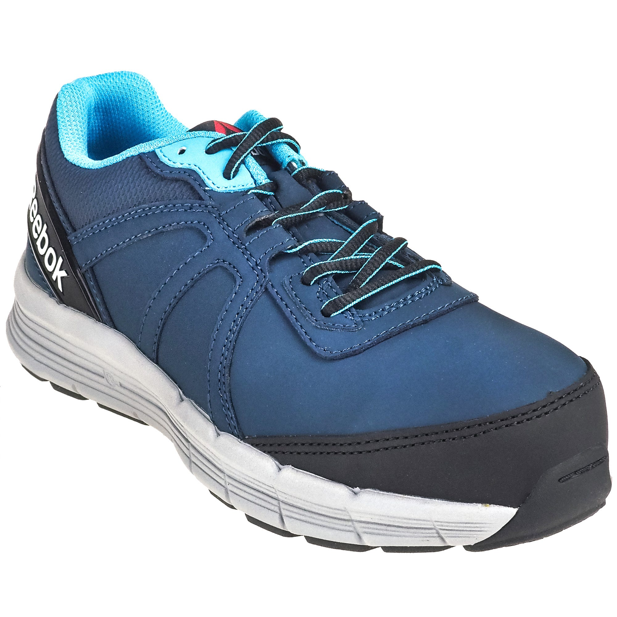 Reebok Women's RB354 Blue Steel Toe EH Guide Performance Cross Trainer Athletic Work Shoes