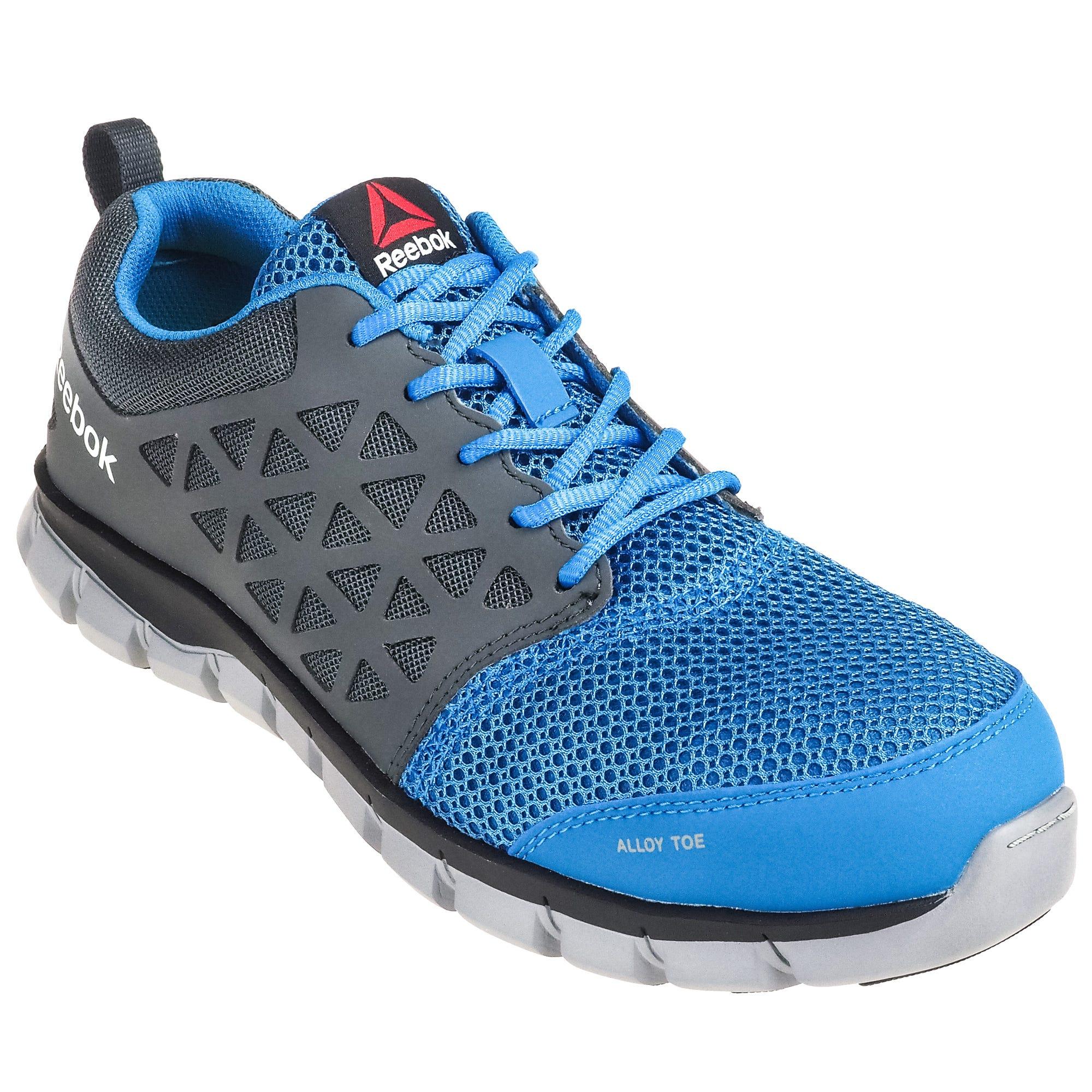 efa3b316c4ed Reebok Shoes  ESD Men s RB4040 Alloy Toe Blue Grey Sublite Cushion ...