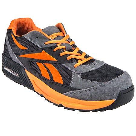 Reebok Shoes: Men's RB4722 Retro Jogger Composite Toe ESD Work Shoes - Orange