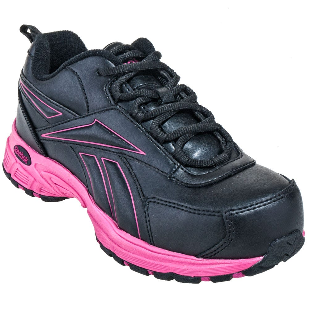 reebok shoes s rb482 pink ateron steel toe athletic