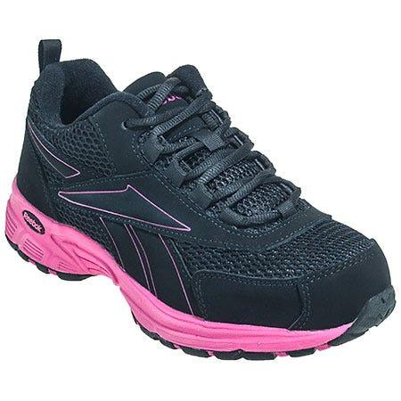 Reebok Women's Black RB486 Kenoy ESD Athletic Steel Toe Work Shoes