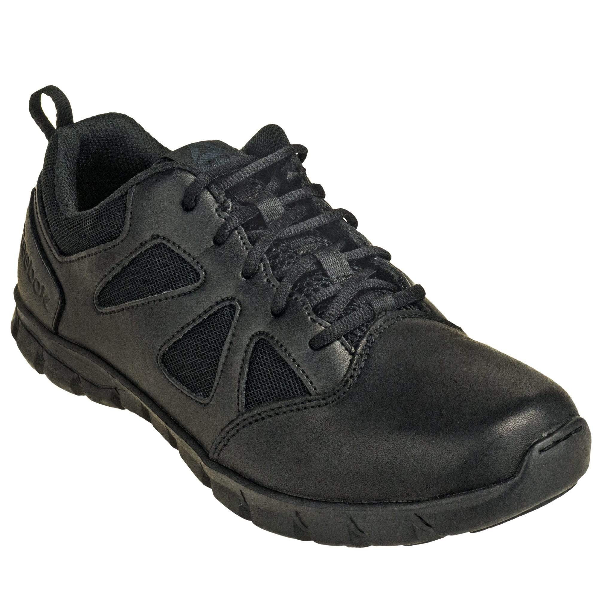 Reebok RB8105 Sublite Cushion Black Non-Metallic Tactical Oxfords