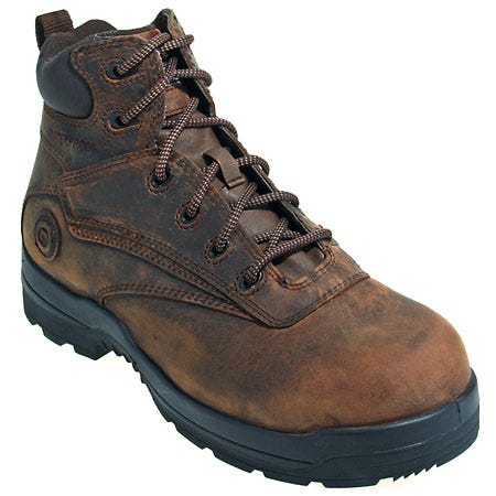 Rockport Works Boots: Men's 6 Inch Brown Waterproof  Boots RK6630