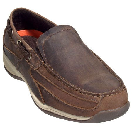 Rockport Works Shoes: Men's Steel Toe Boat Shoes RK6737