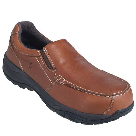 Rockport Works Shoes: Men's Composite Toe Slip-On Work Shoes RK6748