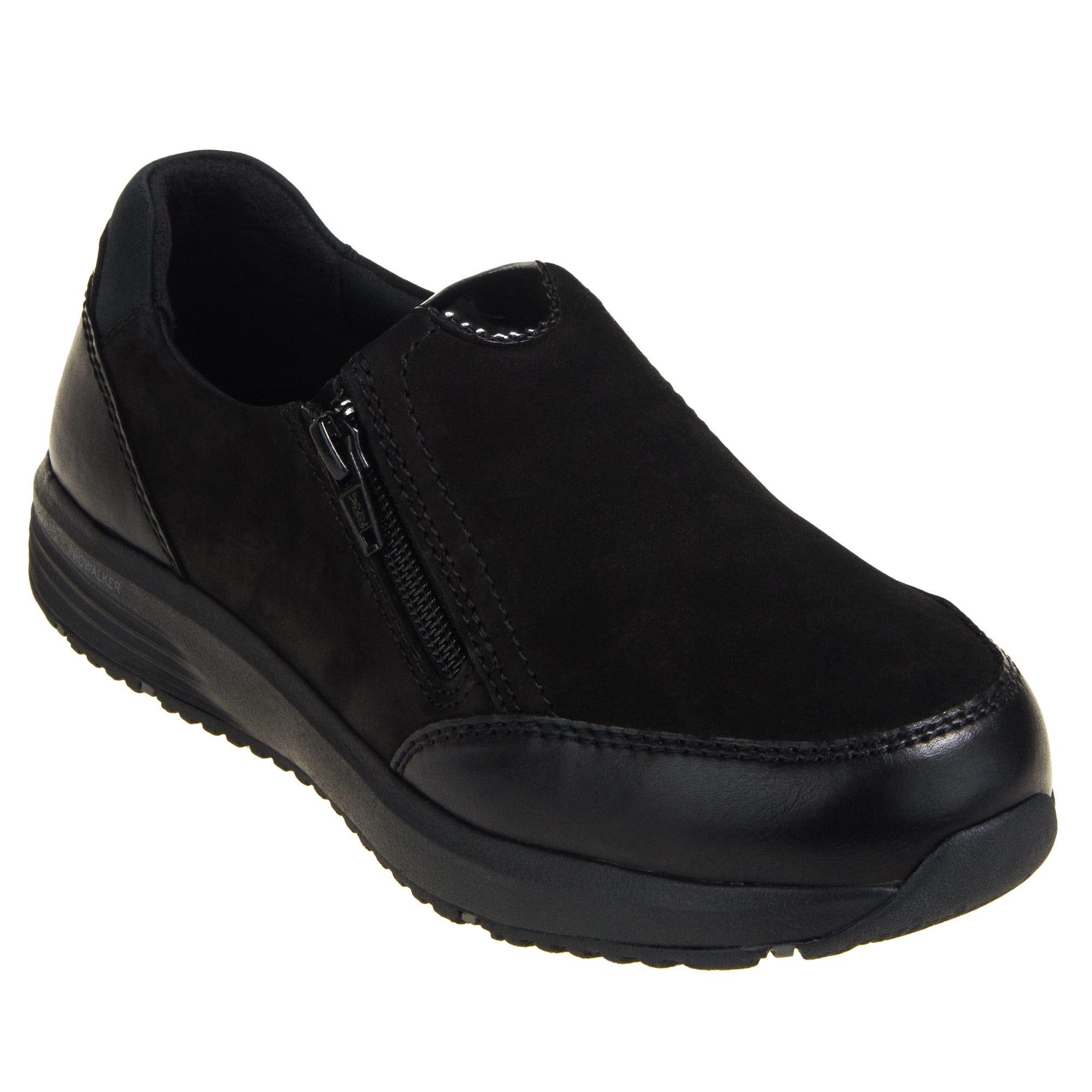 Rockport Trustride RK500 Women's Black Slip On EH Steel Toe Zip Work Shoes