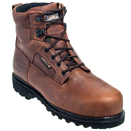 best price rocky shoes s 6987 steel toe waterproof eh