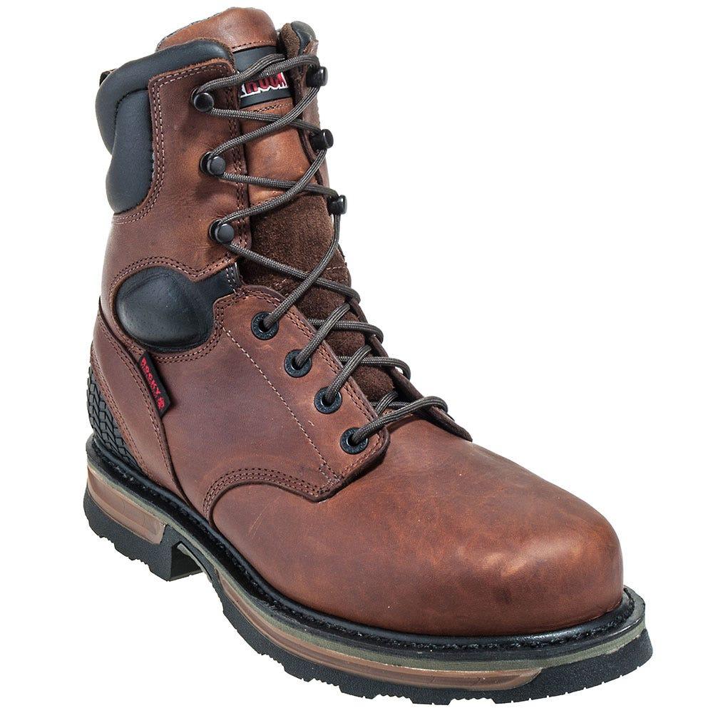 Rocky Boots Men's Steel Toe Work Boots K087