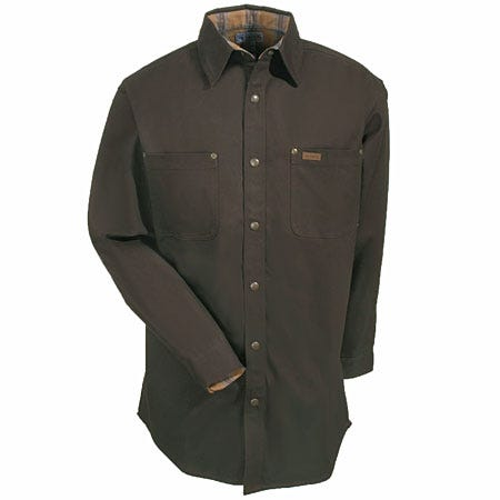 Carhartt shirts men s dark brown s296 dkb flannel lined for Black brown mens shirts
