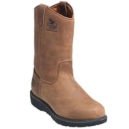 Georgia Boots G4432 Men's Goodyear Welt Leather Wellington Work Boots
