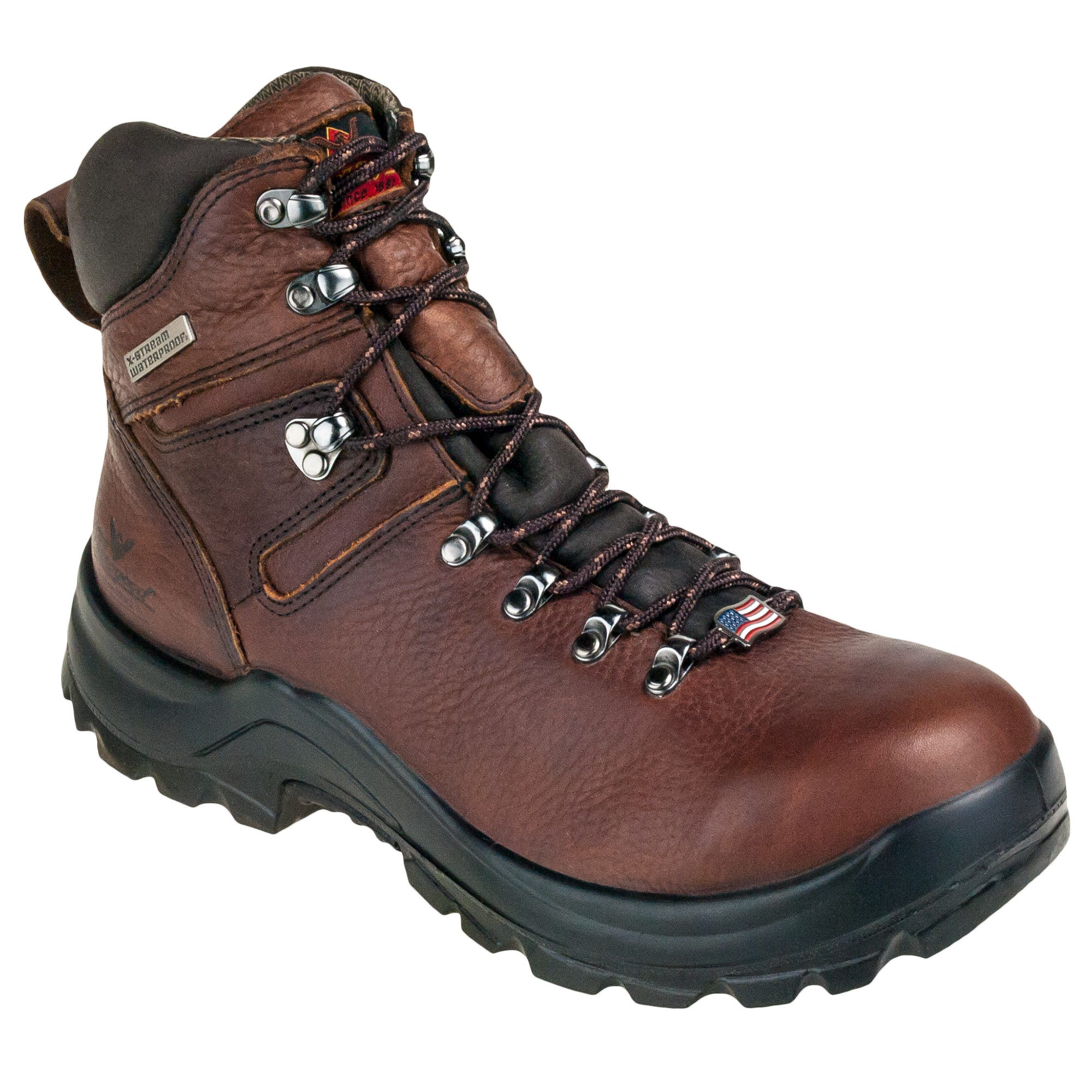 fcf0753048d Thorogood Boots: USA-Made 814-3266 Men's Waterproof EH Brown Omni 6 ...