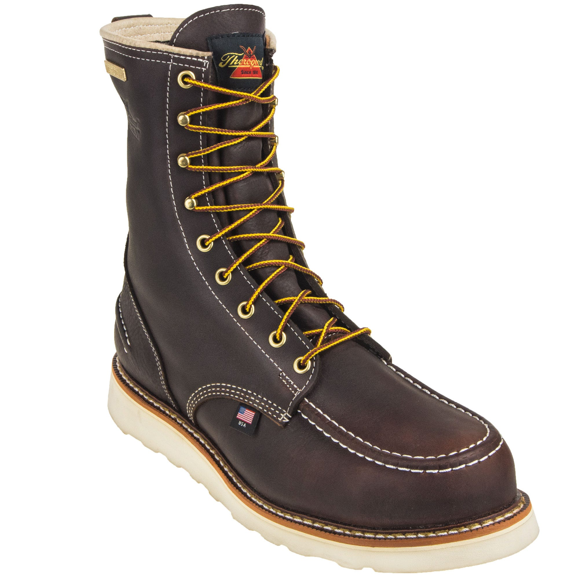 b87a44ede02 Thorogood Boots: Men's 814 3800 American Heritage Non Safety ...