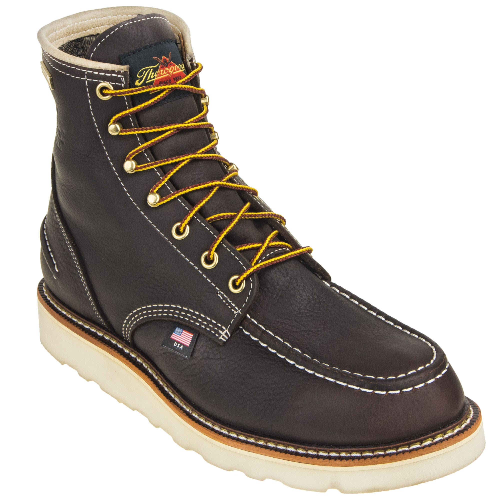 943b48f9dcf Thorogood Boots: Men's 814 3600 American Heritage Non Safety Moc Toe ...