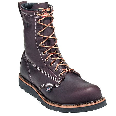Thorogood Boots: Men's Brown American Heritage 814-4269 USA-Made EH Work Boots