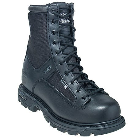 Thorogood Boots: Men's Side Zip 8 Inch 834-7991 Waterproof Trooper Boots