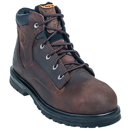 Timberland PRO Boots: Men's 85591 Magnus Brown EH Steel Toe Boots