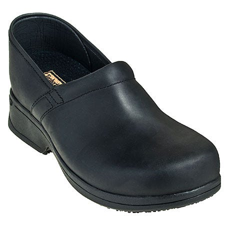 Timberland PRO Shoes: Men's Black 89636 Five Star Slip On Chef Clogs Sale $120.00 Item#89636 :