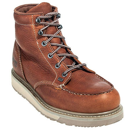 Timberland PRO Boots: Men's Brown 89647 Barstow Wedge Work Boots