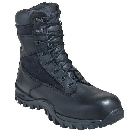 Timberland PRO Boots: Men's Black 89679 McClellan Compostie Toe Military Boots