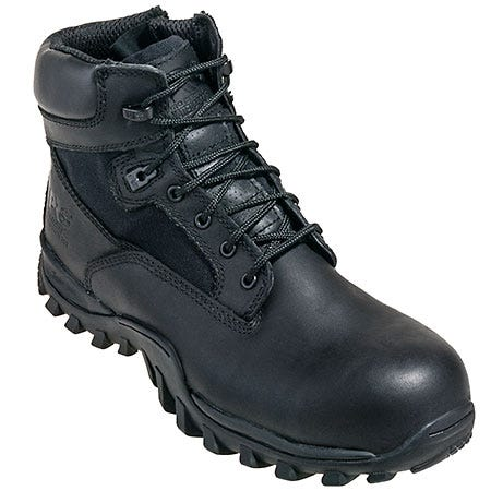 Timberland PRO Boots: Men's Black 89680 McClellan Composite Toe Military Boots